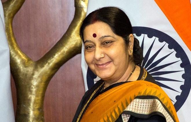 La ministre indienne des AE en visite au Cambodge