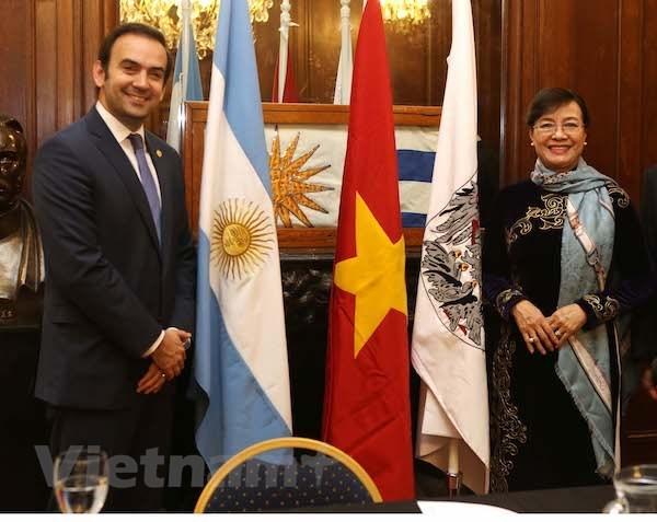 Une délégation de Ho Chi Minh-Ville à Buenos Aires pour resserer les liens d