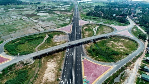 Quang Ninh a sa première autoroute