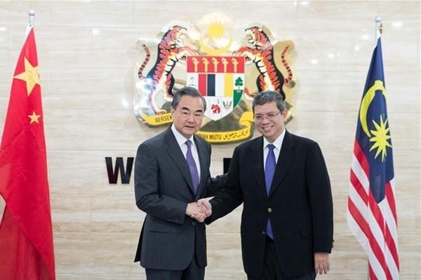 La Chine et la Malaisie s