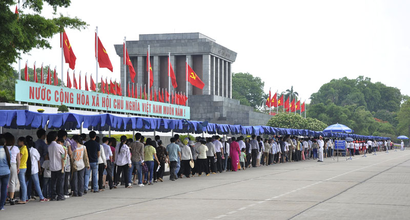 Le mausolée du Président Hô Chi Minh sera rouvert le 16 août