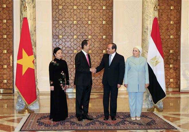 Le Vietnam et l'Egypte affirment leur volonté d