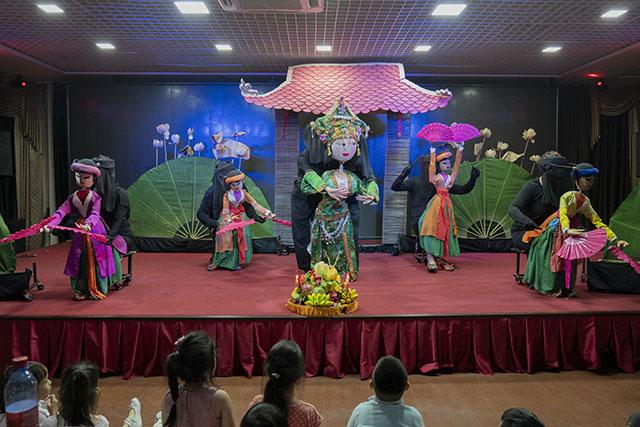 Les marionnettes du Vietnam s