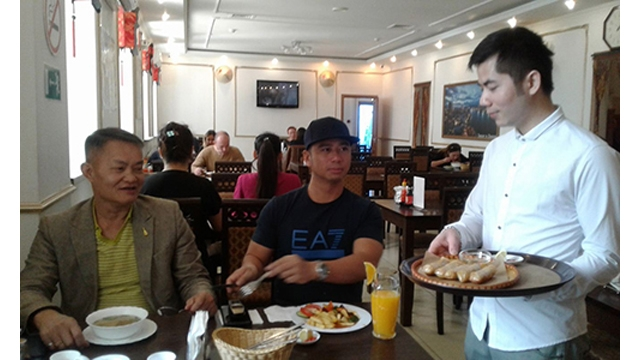 Les restaurants des Vietnamiens en Russie