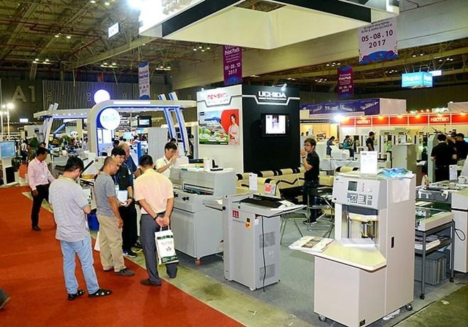 Ouverture de l'exposition Vietnam Print Pack Foodtech 2018 à HCM-Ville