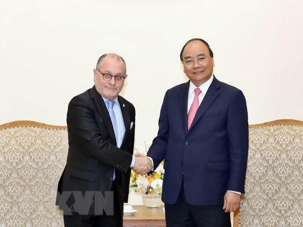 Le Premier ministre Nguyên Xuân Phuc reçoit le ministre argentin des AE et du Culte