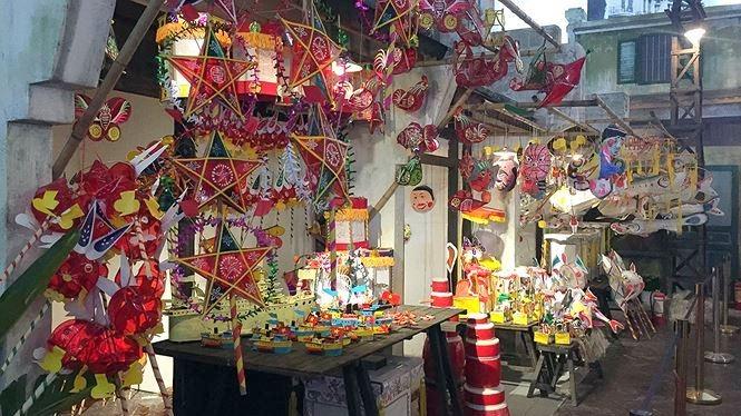 La citadelle de Thang Long accueille des activités du festival de la mi-automne pour les enfants