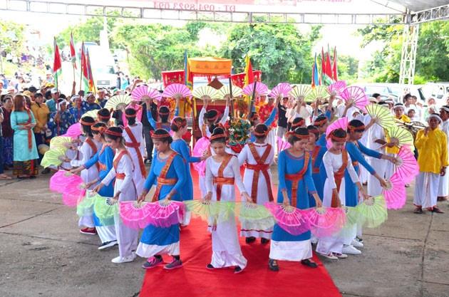 Les Cham de Binh Thuân se préparent pour la fête de Katé 2018