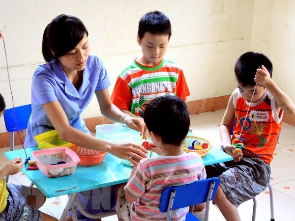 Un atelier soutient les besoins éducatifs des enfants autistes