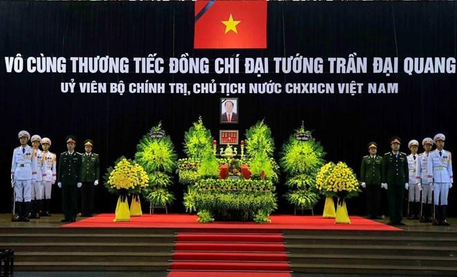 Célébration solennelle des funérailles nationales pour le président Tran Dai Quang