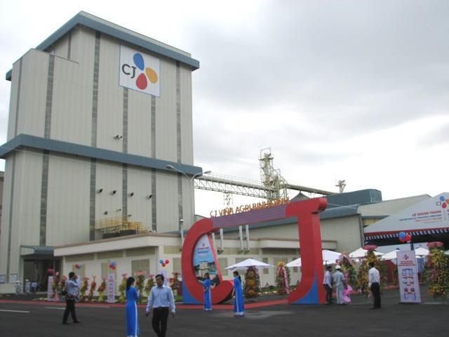 Mise en service d'une usine d'aliments pour animaux à Binh Dinh