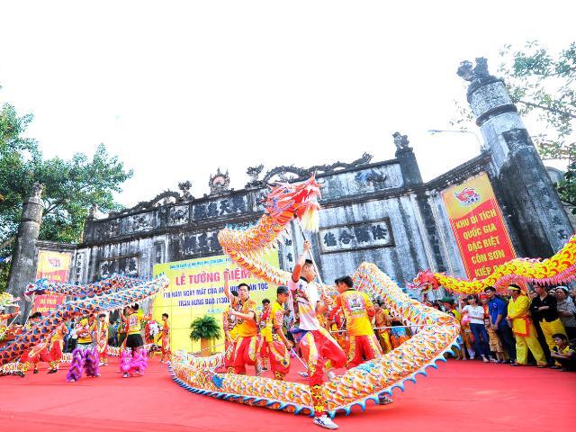Diverses activités pour la fête automnale de Côn Son-Kiêp Bac 2018