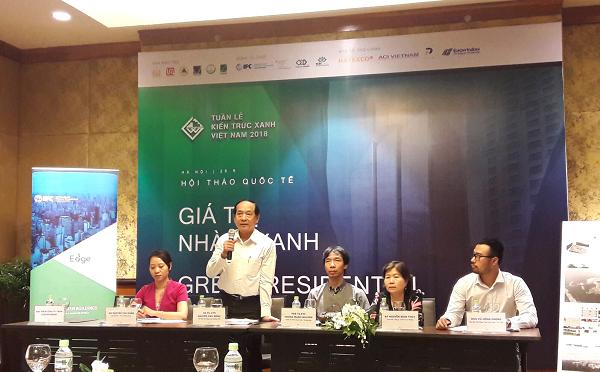 La Semaine sur l'architecture verte du Vietnam 2018 s'ouvre à Hanoi