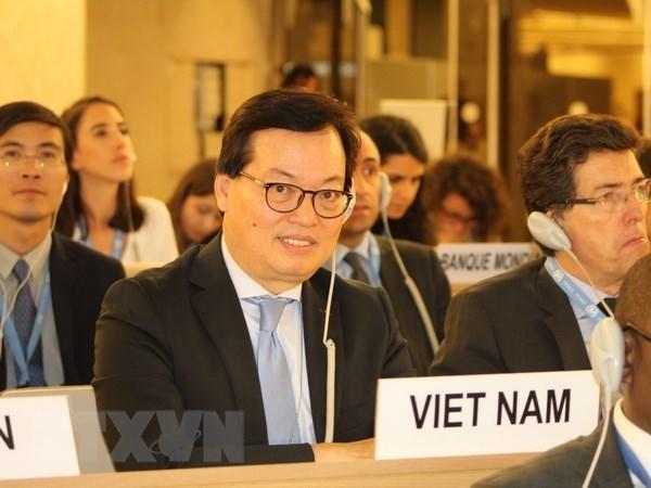 Le Vietnam participe activement à la session ordinaire du Conseil des droits de l