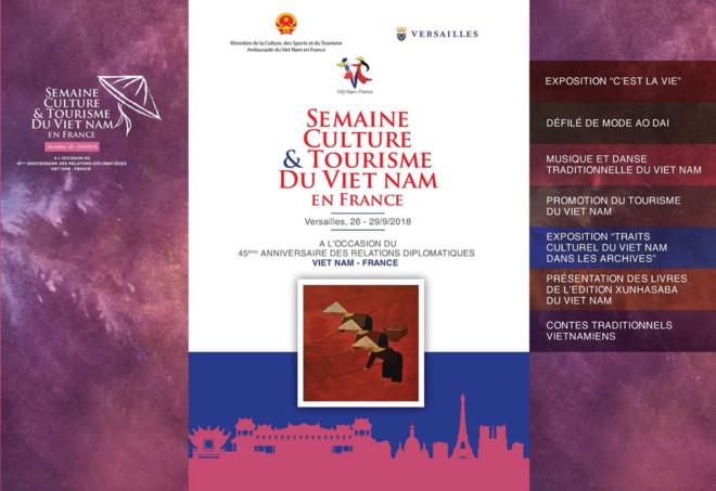 Bientôt la Semaine culturelle et touristique du Vietnam en France