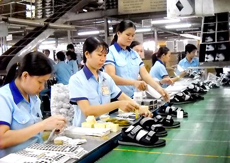 Bond des exportations nationales de chaussures en 8 mois