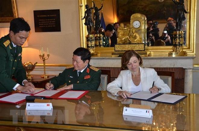 Défense: Vietnam et France signent une déclaration sur la vision commune