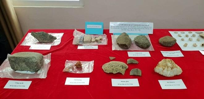 Découverte de plusieurs reliques archéologiques dans la grotte volcanique Krong No