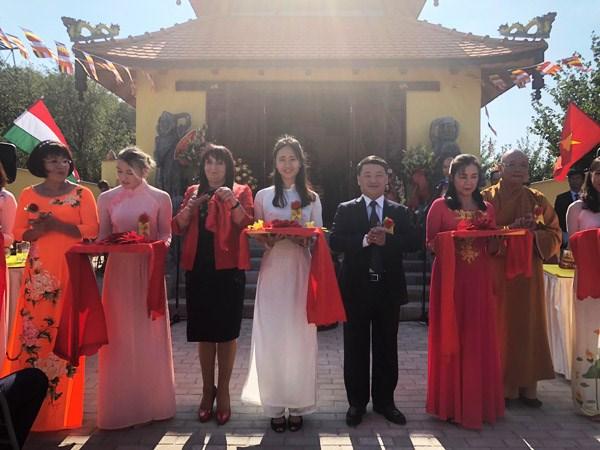 Le première pagode vietnamienne reconnue en Hongrie