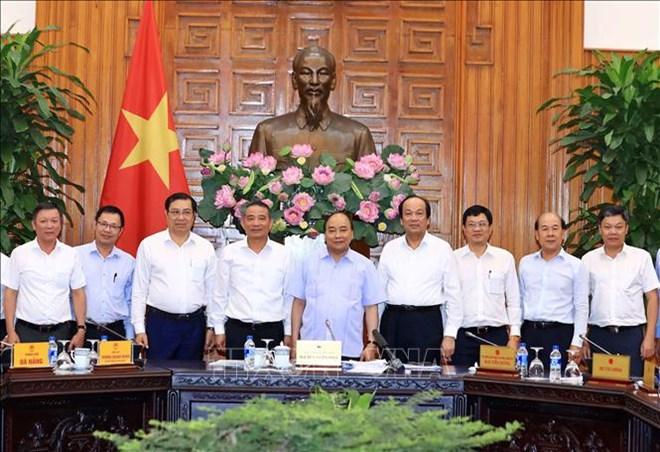 Le Premier ministre apprécie le projet de construction du port de Lien Chieu à Da Nang