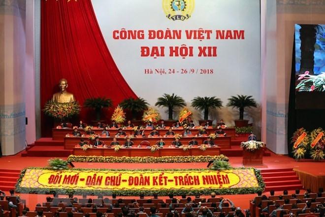 Le 12e congrès syndical national du Vietnam s'ouvre à Hanoi