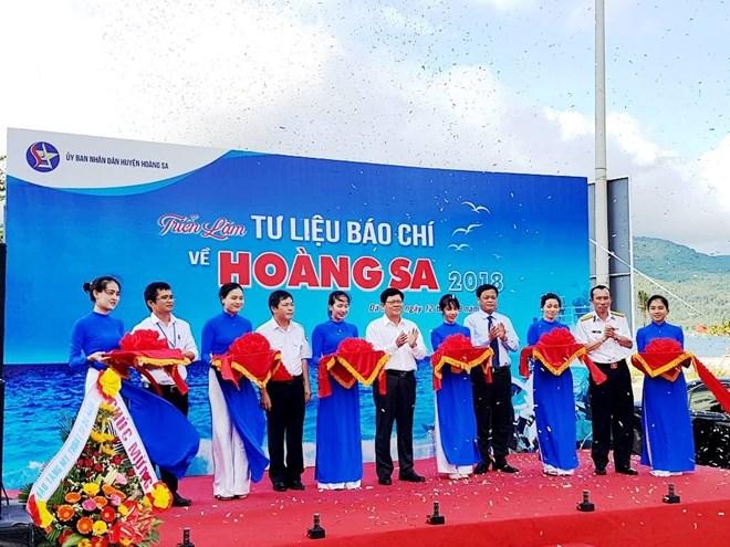 "Exposition ""Documentation de presse sur Hoàng Sa"" à Da Nang"
