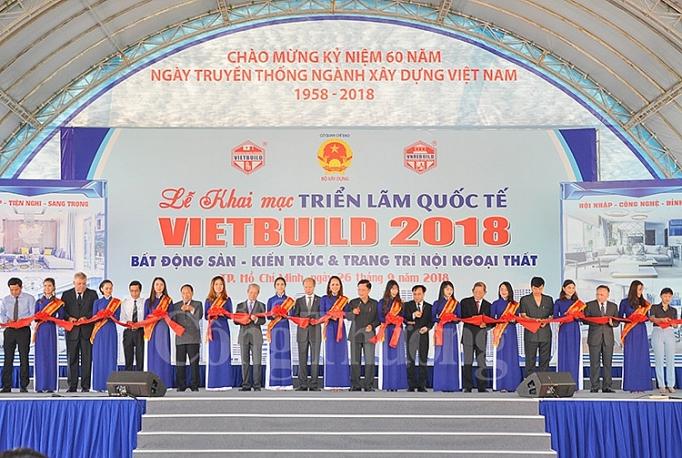 Ouverture de Vietbuild 2018 à Hô Chi Minh-Ville