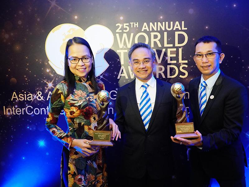 """Le Vietnam honoré par les prix """"World Travel Awards"""" 2018"""