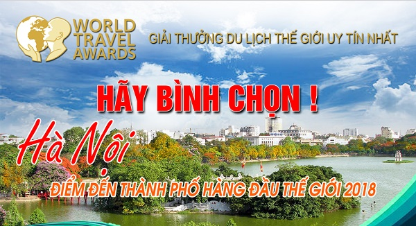 """Hanoï candidate au titre de """"ville touristique de premier rang mondial"""""""