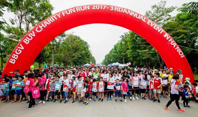 L'ambassadeur du Royaume-Uni participera à la BBGV Charity Fun Run 2018 à Hanoï