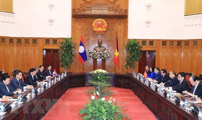 Le PM laotien souligne les contributions de l