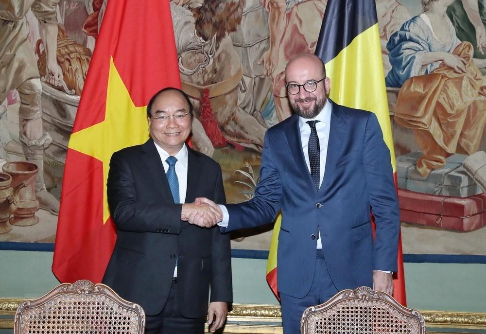 Vietnam et Belgique plaident pour la promotion de la coopération multiforme
