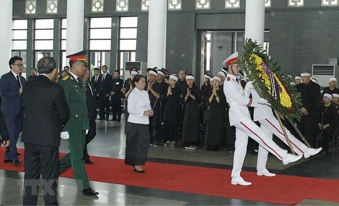 Des dirigeants étrangers expriment leurs regrets pour la mort de l'ancien secrétaire général Do Muoi