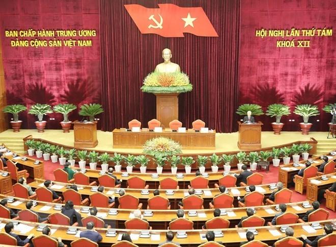 Clôture du 8e Plénum du Comité central du PCV du 12e mandat
