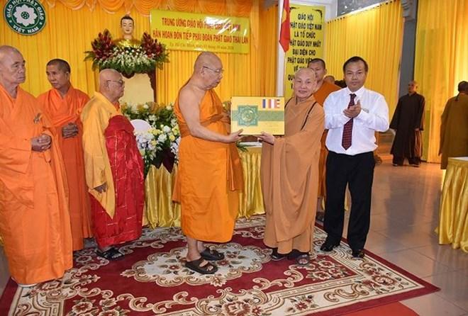 Une délégation bouddhiste thaïlandaise en visite au Vietnam