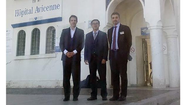 L'hôpital K et des hôpitaux français coopèrent dans la formation des médecins