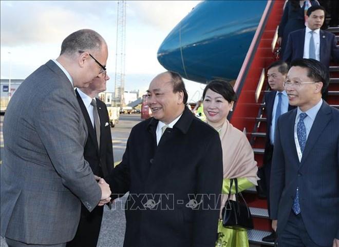 Le PM arrive à Copenhagen pour le Sommet du P4G et une visite officielle au Danemark