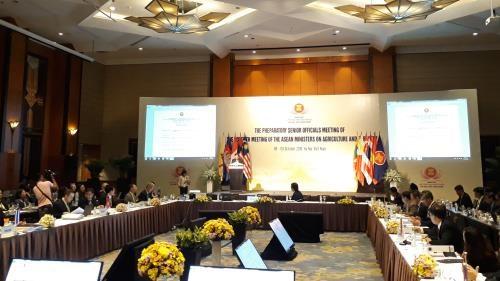 Agriculture et sylviculture: conférence des hauts officiels de l'ASEAN à Hanoï