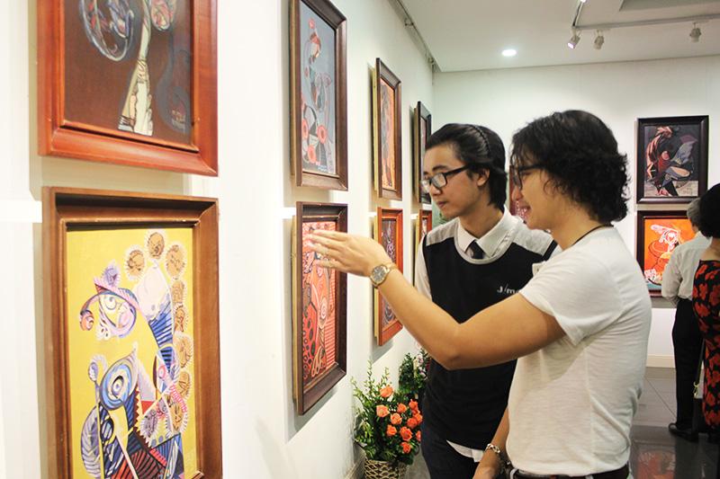 """Beaux-arts: exposition """"Les caractéristiques culturelles des ethnies vietnamiennes"""""""