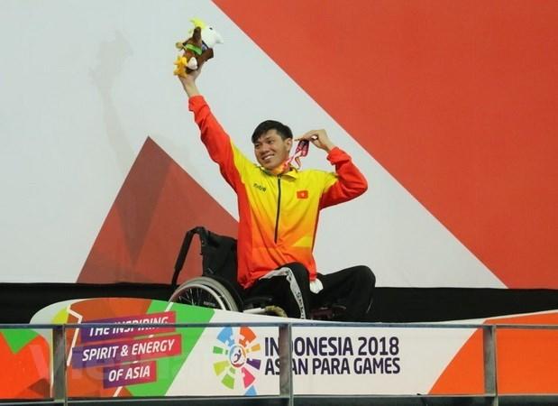 Asian Para Games 2018: le nageur Vo Thanh Tung décroche une autre médaille d
