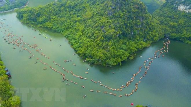 Ninh Binh: hausse du nombre de touristes de 4,9%