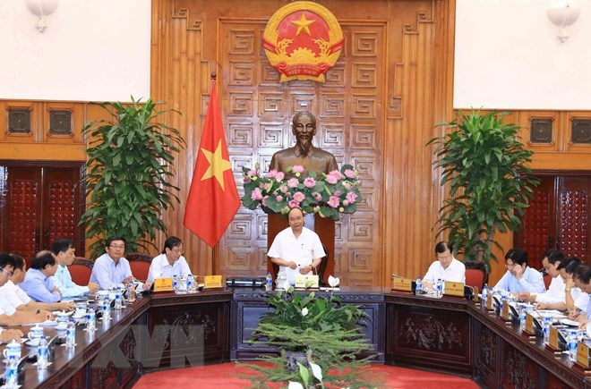 Le Premier ministre travaille avec les autorités de Ninh Thuan