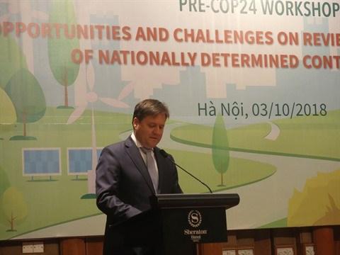 Pré-COP24: les préparatifs du Vietnam au centre d'un colloque à Hanoï