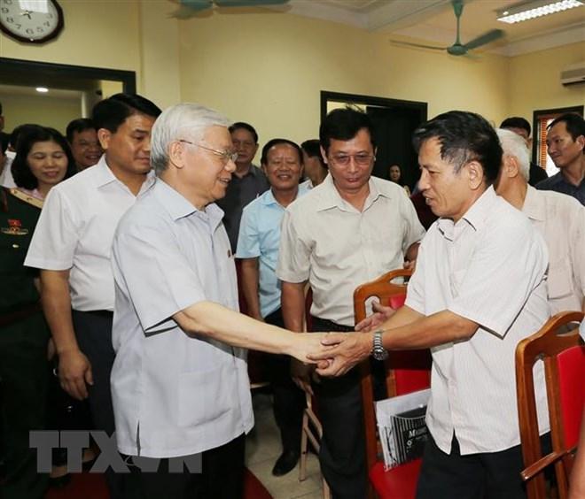 Le leader du PCV souligne la lutte contre la corruption
