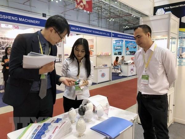 Plastique: plus de 520 entreprises participent à l'exposition VietnamPlas 2018