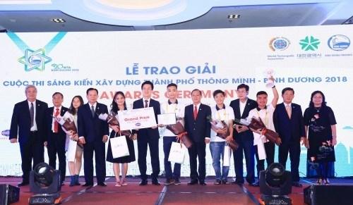 Une équipe vietnamienne remporte le concours international d
