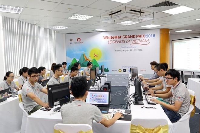 Concours de cybersécurité à Hanoi