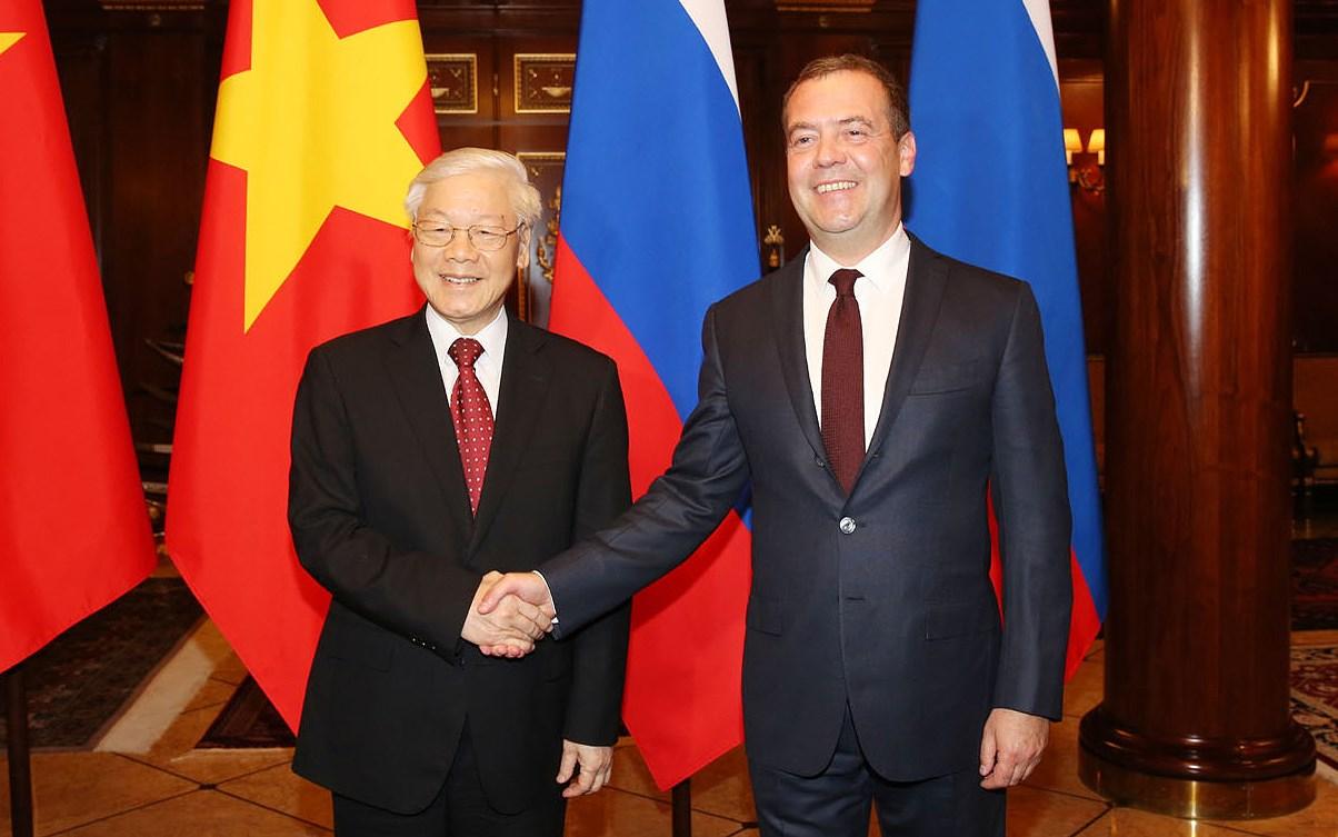 Relations de partenariat Russie-Vietnam en bon développement