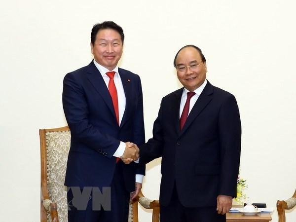 Le Premier ministre appelle les investisseurs sud-coréens à étendre leurs activités au Vietnam