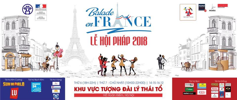 """""""Balade en France"""" sera organisée pour la première fois à Hanoï"""